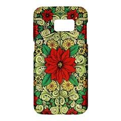 Calsidyrose Groovy Christmas Samsung Galaxy S7 Hardshell Case