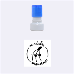 Small Rubber Stamp (round)