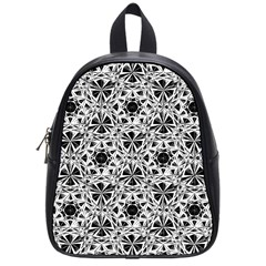 Star Crystal Black White 1 And 2 School Bag (small)