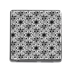 Star Crystal Black White 1 And 2 Memory Card Reader (square)