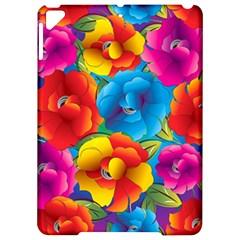 Neon Colored Floral Pattern Apple Ipad Pro 9 7   Hardshell Case