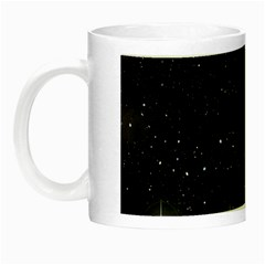 Starry Galaxy Night Black And White Stars Night Luminous Mugs