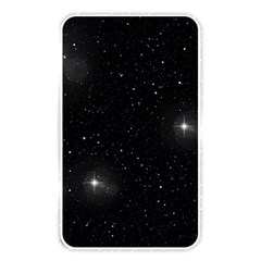 Starry Galaxy Night Black And White Stars Memory Card Reader