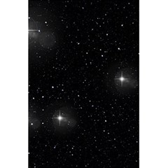 Starry Galaxy Night Black And White Stars 5 5  X 8 5  Notebooks