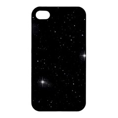 Starry Galaxy Night Black And White Stars Apple Iphone 4/4s Hardshell Case