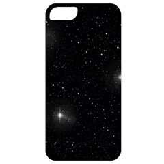 Starry Galaxy Night Black And White Stars Apple Iphone 5 Classic Hardshell Case