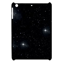 Starry Galaxy Night Black And White Stars Apple Ipad Mini Hardshell Case