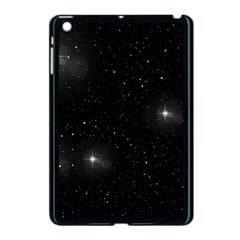Starry Galaxy Night Black And White Stars Apple Ipad Mini Case (black)