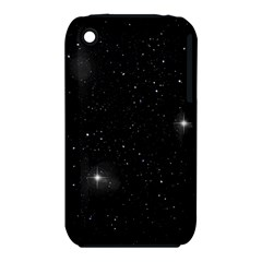 Starry Galaxy Night Black And White Stars Iphone 3s/3gs