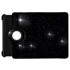 Starry Galaxy Night Black And White Stars Kindle Fire Hd 7