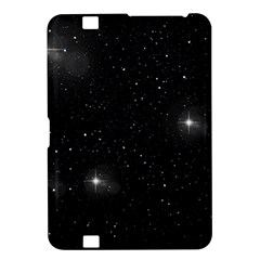 Starry Galaxy Night Black And White Stars Kindle Fire Hd 8 9