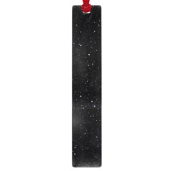 Starry Galaxy Night Black And White Stars Large Book Marks