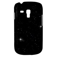 Starry Galaxy Night Black And White Stars Galaxy S3 Mini