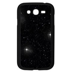 Starry Galaxy Night Black And White Stars Samsung Galaxy Grand Duos I9082 Case (black)