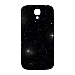 Starry Galaxy Night Black And White Stars Samsung Galaxy S4 I9500/i9505  Hardshell Back Case