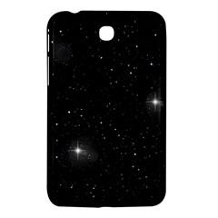 Starry Galaxy Night Black And White Stars Samsung Galaxy Tab 3 (7 ) P3200 Hardshell Case