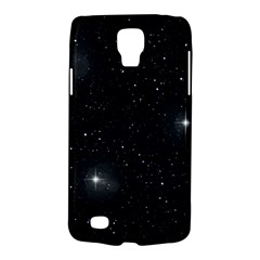 Starry Galaxy Night Black And White Stars Galaxy S4 Active