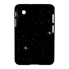 Starry Galaxy Night Black And White Stars Samsung Galaxy Tab 2 (7 ) P3100 Hardshell Case