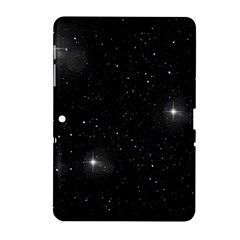 Starry Galaxy Night Black And White Stars Samsung Galaxy Tab 2 (10 1 ) P5100 Hardshell Case