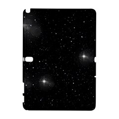 Starry Galaxy Night Black And White Stars Galaxy Note 1