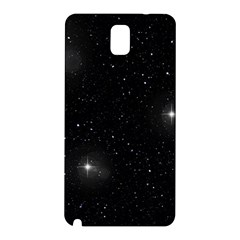 Starry Galaxy Night Black And White Stars Samsung Galaxy Note 3 N9005 Hardshell Back Case