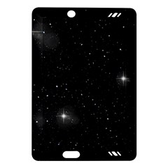Starry Galaxy Night Black And White Stars Amazon Kindle Fire Hd (2013) Hardshell Case