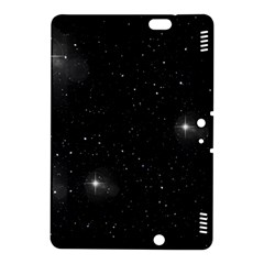 Starry Galaxy Night Black And White Stars Kindle Fire Hdx 8 9  Hardshell Case