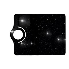 Starry Galaxy Night Black And White Stars Kindle Fire Hd (2013) Flip 360 Case