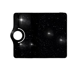 Starry Galaxy Night Black And White Stars Kindle Fire Hdx 8 9  Flip 360 Case