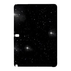Starry Galaxy Night Black And White Stars Samsung Galaxy Tab Pro 10 1 Hardshell Case