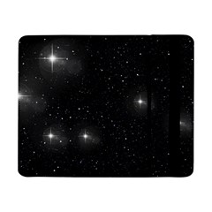 Starry Galaxy Night Black And White Stars Samsung Galaxy Tab Pro 8 4  Flip Case