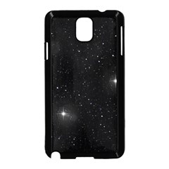 Starry Galaxy Night Black And White Stars Samsung Galaxy Note 3 Neo Hardshell Case (black)