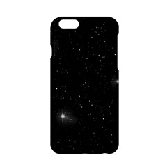 Starry Galaxy Night Black And White Stars Apple Iphone 6/6s Hardshell Case