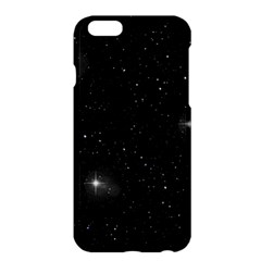 Starry Galaxy Night Black And White Stars Apple Iphone 6 Plus/6s Plus Hardshell Case