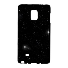 Starry Galaxy Night Black And White Stars Galaxy Note Edge