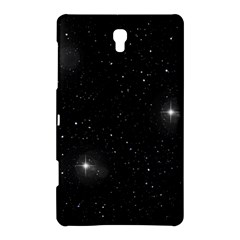 Starry Galaxy Night Black And White Stars Samsung Galaxy Tab S (8 4 ) Hardshell Case