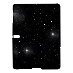 Starry Galaxy Night Black And White Stars Samsung Galaxy Tab S (10 5 ) Hardshell Case