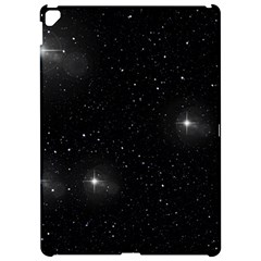 Starry Galaxy Night Black And White Stars Apple Ipad Pro 12 9   Hardshell Case