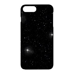 Starry Galaxy Night Black And White Stars Apple Iphone 7 Plus Hardshell Case