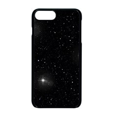 Starry Galaxy Night Black And White Stars Apple Iphone 7 Plus Seamless Case (black)