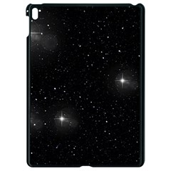 Starry Galaxy Night Black And White Stars Apple Ipad Pro 9 7   Black Seamless Case