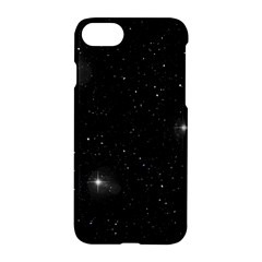 Starry Galaxy Night Black And White Stars Apple Iphone 8 Hardshell Case