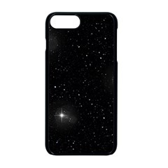 Starry Galaxy Night Black And White Stars Apple Iphone 8 Plus Seamless Case (black)