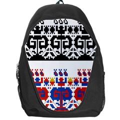 Bulgarian Folk Art Folk Art Backpack Bag