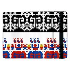 Bulgarian Folk Art Folk Art Samsung Galaxy Tab Pro 12 2  Flip Case