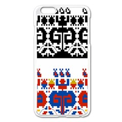 Bulgarian Folk Art Folk Art Apple Iphone 6 Plus/6s Plus Enamel White Case