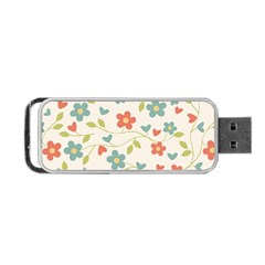 Abstract Art Background Colorful Portable Usb Flash (one Side)