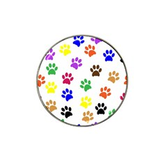 Pawprints Paw Prints Paw Animal Hat Clip Ball Marker (4 Pack)
