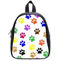 Pawprints Paw Prints Paw Animal School Bag (small)