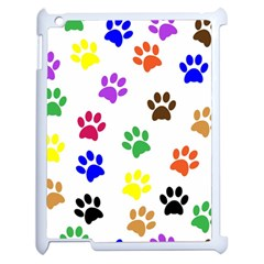 Pawprints Paw Prints Paw Animal Apple Ipad 2 Case (white)